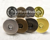 50sets 14mm  Magnetic Snap Closure / thick