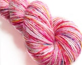 MyPrecious Love Unlimited - Sparkle merino - Handdyed fingering weight yarn wool nylon stellina