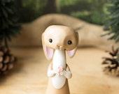 Rabbit Figurine by Bonjour Poupette