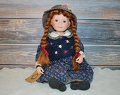 Boyds Bears Yesterdays Child Doll Collection, Model #4954, Courtney Doll.