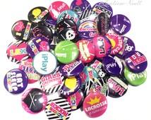 """Lacrosse, 1"""" Buttons, Lacrosse Badge, Lacrosse Gifts, Lacrosse Theme, Lacrosse Party Favors, Girls Lacrosse, Lacrosse Rocks, Lax, Flatback"""