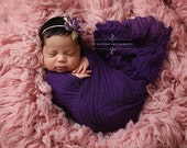 Purple Cheesecloth Baby Wrap Cheese Cloth Newborn Photography