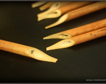 Bamboo Calligraphy pen - Most basic yet very versatile tool used in Arabic calligraphy