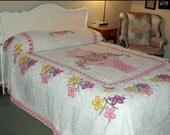 Stunning Chenille Bedspread