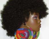 Ready to Ship Clearance Mega Mama 5 inch Light Weight Earrings by Razonda Lee Razondalee