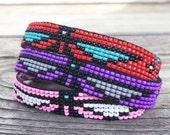 Red Thunderbird Handmade Beaded Bracelet
