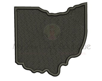 Ohio State Embroidery Designs - Machine Embroidery Designs - 8 Sizes - Instant Download