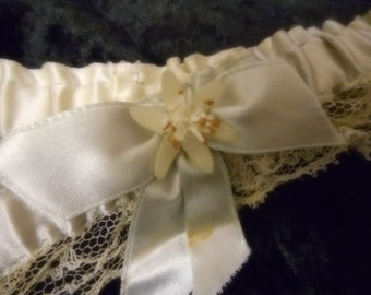 x Baby Blue Garter Something Blue Bridal Wedding (FF100415-08)
