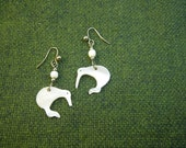 Kiwi Bird Shell Earrings New Zealand