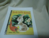 Vintage 1982 The Lively Little Rabbit Little Golden Book, 28th printing, Golden Press, collectable
