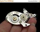 Steampunk Whale (Animal Brooch or Pendant)