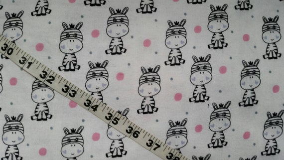 Kids flannel fabric with zebras horse heart dot cotton print for Horse fabric for kids