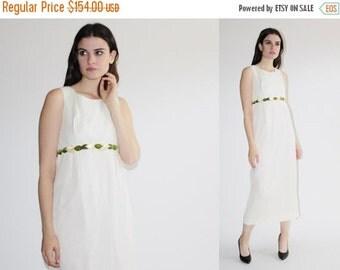 On SALE 25% Off ends 10th D - 60s Wedding Dress - Goddess Wedding Dress  - The Persephone Dress - 8031