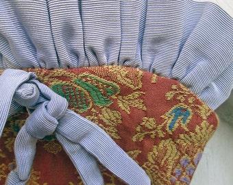 SALE Vintage Handbag Tapestry Handmade