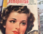 Vintage 1942 Magazine Cosmopolitan Articles Advertising This Is A Complete Magazine November 1942
