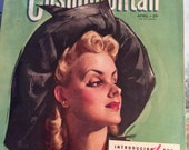 Vintage 1941 Magazine Cosmopolitan April 1941 Great Advertising Articles This Is A Complete Magazine