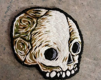 Made to order - bby skull (choose your color scheme)