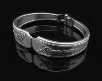 Handmade Silver Bracelet, Spoon Bracelet, Milady MEDIUM fits 6-7 inch wrist