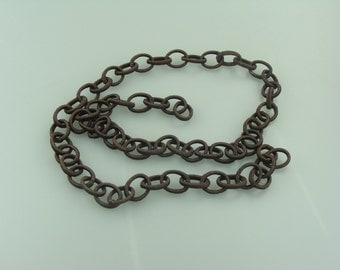 Italian Silk Chain - Brown with Sparkle