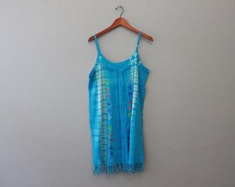 Vintage 90sTye Dye Beach Dress