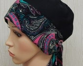 Chemo Bonnet, Chemotherapy Caps, Cancer Head Wear, Cancer Head Covering, Hair Loss Head Scarves, Cancer Head Scarf
