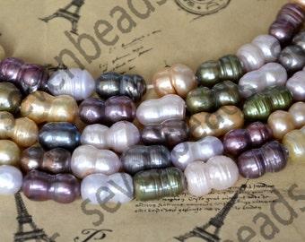 Single multicolor Baroque cultured pearl beads, Freshwater Cultured Pearl Beads Gemstone ,Freshwater Cultured Pearl Beads
