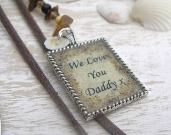 Vintage Style Men's Bookmark with personalisation