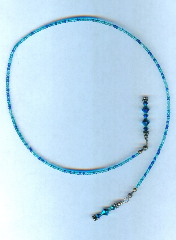 Swarovski Peacock 2x AB Faceted Crystal Bead Bookmark GREAT gift!