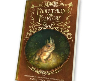"PREORDER STANDARD EDITION of ""Fairy Tales and Folklore"" Sketchbook 2016 by Annie Stegg Gerard"