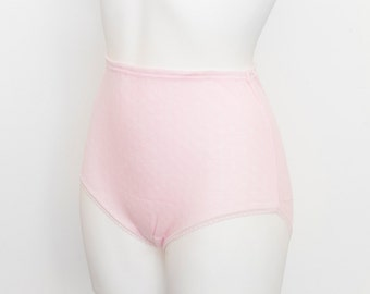 high waist panties pink dead stock Vintage