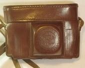 1950th made. From Kiev-3A, Kiev-4 cameras original Leather Case