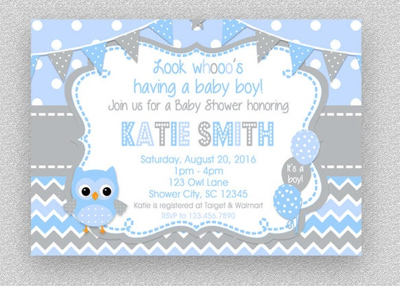 Baby shower invitation boy baby shower invitation baby shower il570xn filmwisefo