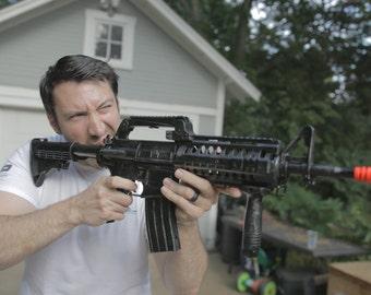 AR variant assault rifle replica M-4 gun