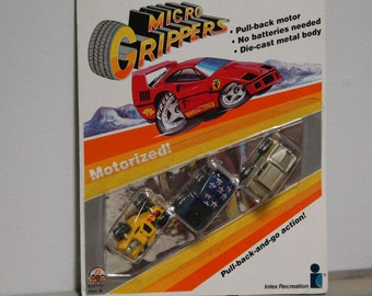 1989 Micro Grippers, Motorized Cars, Intex Recreation Corp.