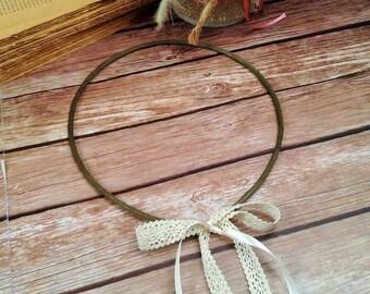 STEFANA  - Wedding Crowns, Orthodox weddings wreaths CLEOPATRA BRONZE - One Pair