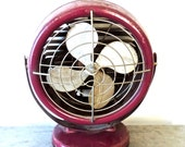 vintage Dominion fan - 1940s mid century industrial atomic fan