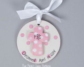 Girl Christening/Baptismal ornament
