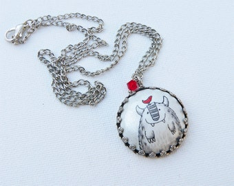 Yeti necklace
