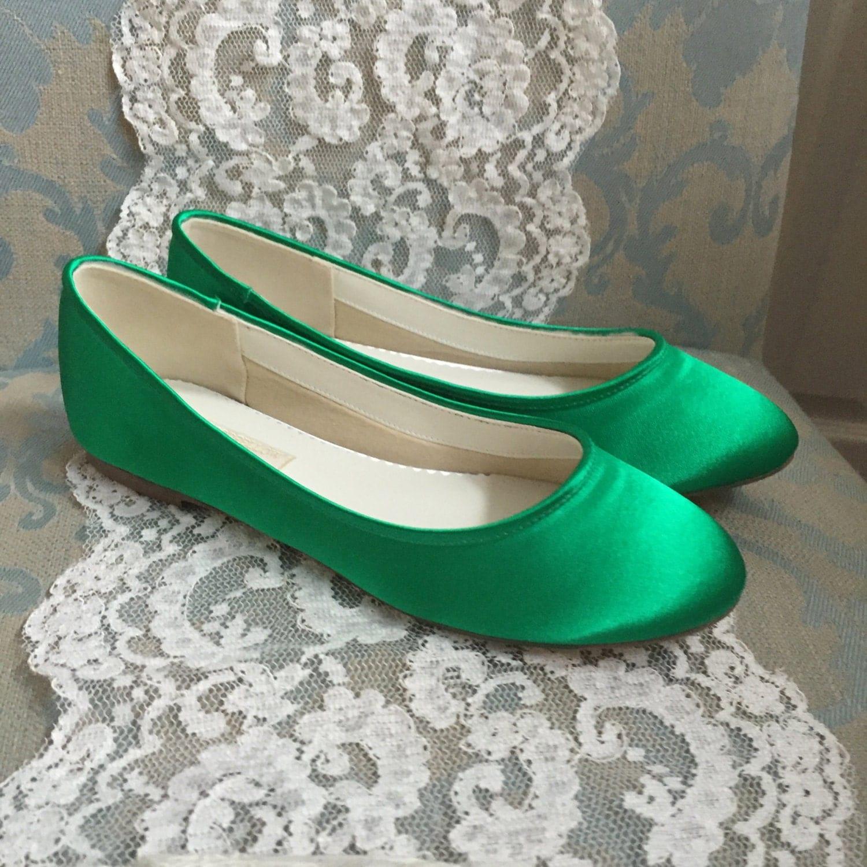 Green Wedding Shoes Emerald Green Shoes Green Flats