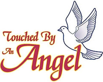 Touched by An Angel Womans Short Sleeve T Shirt  1587