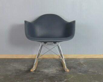 Eames for Herman Miller Molded Plastic Rocking Chair-RAR