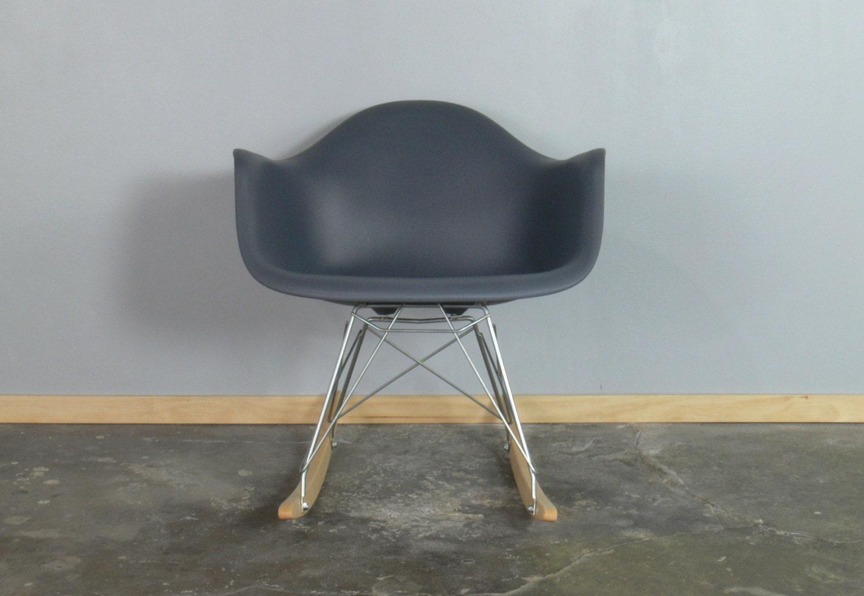 eames for herman miller molded plastic rocking chair rar