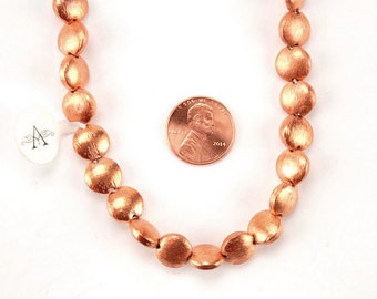 German Copper Coin Beads
