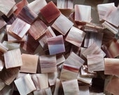 """100 1/2"""" Tree Bark Rough Rolled Stained Glass Mosaic Tiles"""