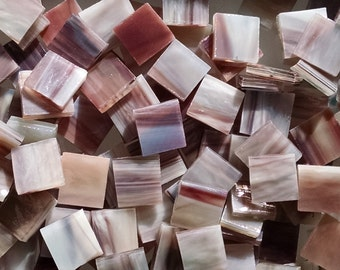 Tree Bark Stained Glass Mosaic Tiles
