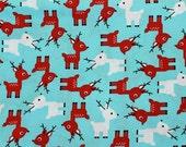 Cute Reindeer Dog Snood, Christmas, Winter, Stay-Put 3 Rows Elastic Thread, Cavalier King Charles or Cocker Snood