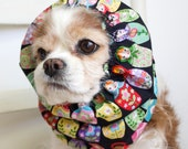 Matryoshka Dolls Dog Snood,  Stay-Put 3 Rows Elastic Thread, Cavalier King Charles or Cocker Snood, Russian Stacking Dolls
