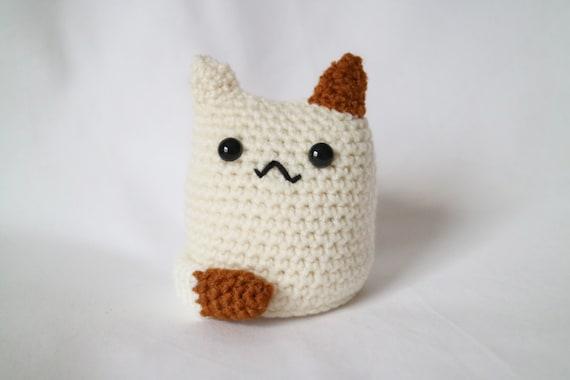 Cat Crochet Amigurumi Kawaii Plush by BeckyGarratt on Etsy