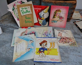 Vintage Collection Of Greeting Cards