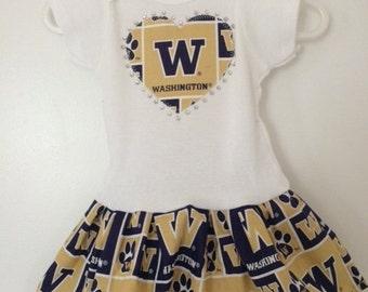University of Washington Inspired  Dress